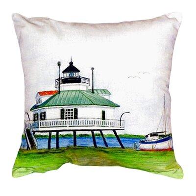 Hopper Strait Lighthouse Indoor/Outdoor Lumbar  Pillow