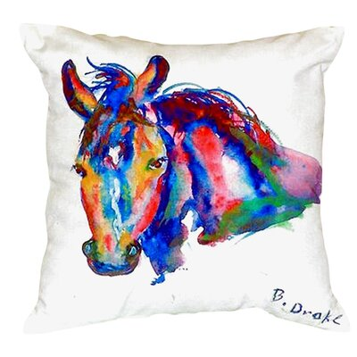 Nellie Horse Indoor/Outdoor Lumbar Pillow
