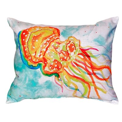 Jellyfish Indoor/Outdoor Lumbar Pillow
