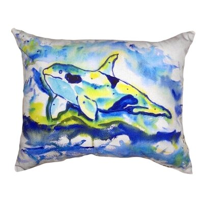 Orca Indoor/Outdoor Lumbar Pillow