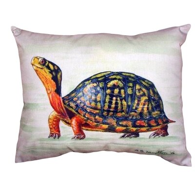 Happy Turtle Indoor/Outdoor Lumbar Pillow
