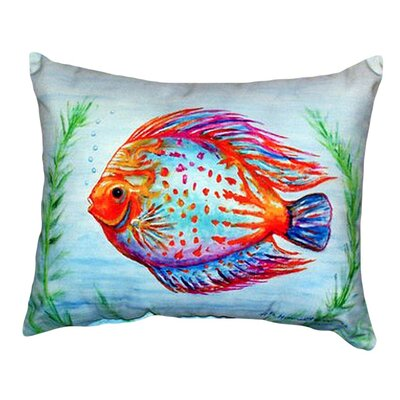 Fish Indoor/Outdoor Lumbar Pillow