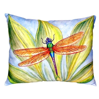 Dicks Dragonfly Indoor/Outdoor Lumbar Pillow