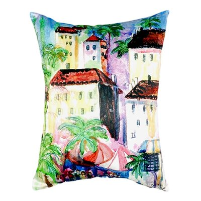 Fun City I Indoor/Outdoor Lumbar Pillow
