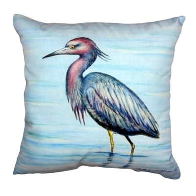 Dicks Little Heron Indoor/Outdoor Throw Pillow