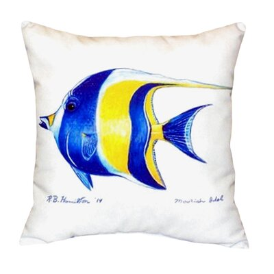 Moorish Idol Indoor/Outdoor Lumbar Pillow