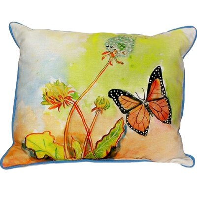 Butterfly Indoor/Outdoor Lumbar Pillow Size: Small