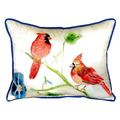 Cardinals Indoor/Outdoor Lumbar Pillow Size: Large