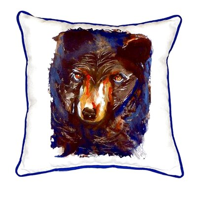 Bear Indoor/Outdoor Throw Pillow Size: Small