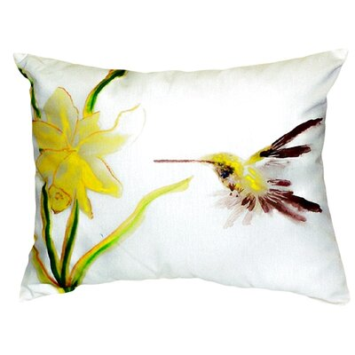 Hummingbird Indoor/Outdoor Lumbar Pillow