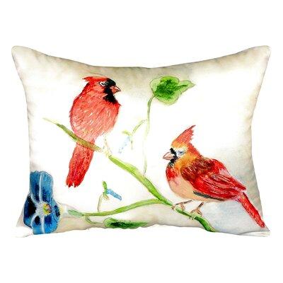 Cardinals Indoor/Outdoor Lumbar Pillow