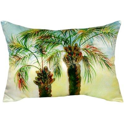 Palms Indoor/Outdoor Lumbar Pillow