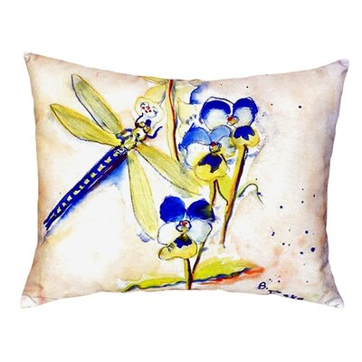 Dragonfly Indoor/Outdoor Lumbar Pillow