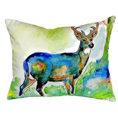 Deer Indoor/Outdoor Lumbar Pillow