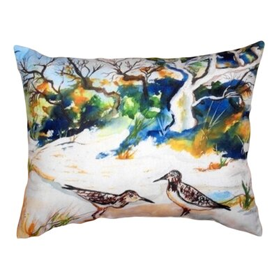 Tree & Beach Indoor/Outdoor Lumbar Pillow