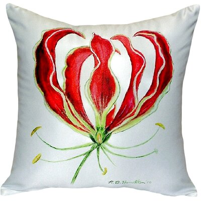 Lily Indoor/Outdoor Throw Pillow
