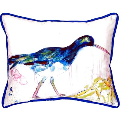 Shore Bird Indoor/Outdoor Lumbar Pillow Size: Small