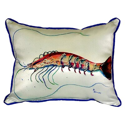 Shrimp Indoor/Outdoor Lumbar Pillow Size: Small