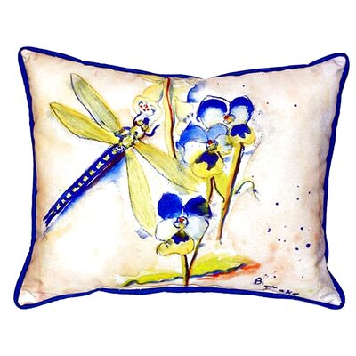 Dragonfly Indoor/Outdoor Lumbar Pillow Size: Small