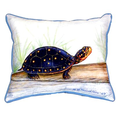 Spotted Turtle Indoor/Outdoor Lumbar Pillow Size: Large