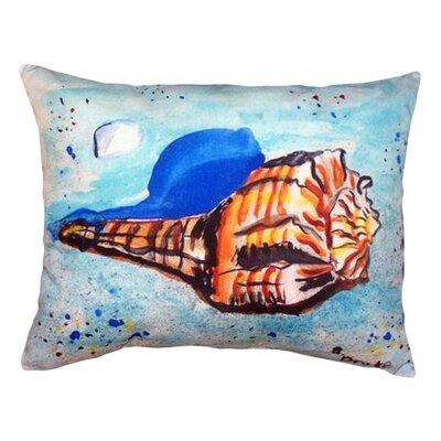 Shell Indoor/Outdoor Lumbar Pillow