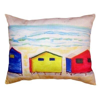 Beach Bungalows Indoor/Outdoor Lumbar Pillow