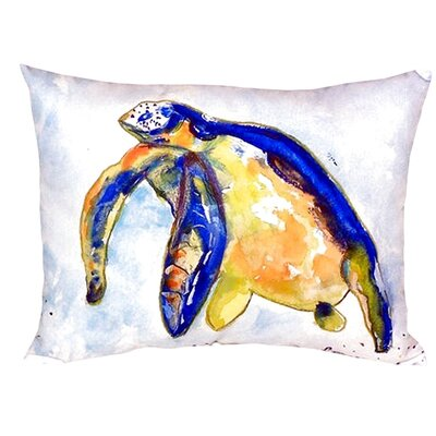 Sea Turtle Indoor/Outdoor Lumbar Pillow