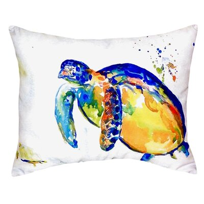 Sea Turtle II Indoor/Outdoor Lumbar Pillow