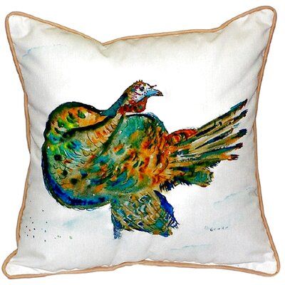 Turkey Indoor/Outdoor Throw Pillow