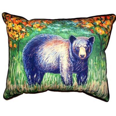 Bear Indoor/Outdoor Lumbar Pillow Size: Small