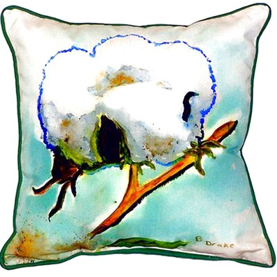 Cottonball Indoor/Outdoor Throw Pillow Size: Large