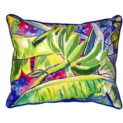 Bananas Indoor/Outdoor Lumbar Pillow Size: Small