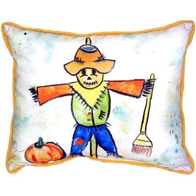 Scarecrow Indoor/Outdoor Lumbar Pillow
