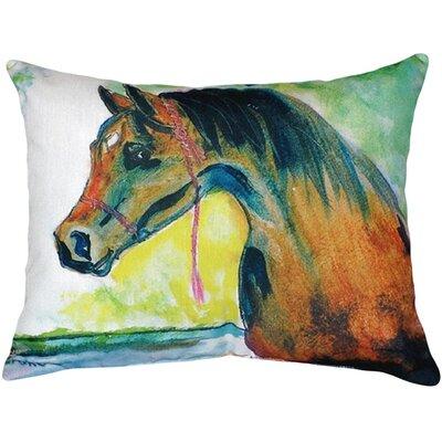 Prize Horse Indoor/Outdoor Lumbar Pillow