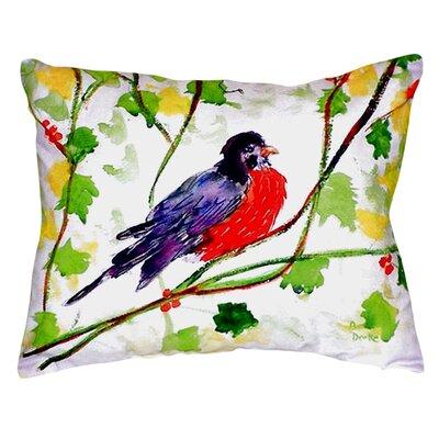Robin Indoor/Outdoor Lumbar Pillow