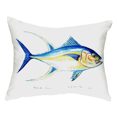 Tuna Indoor/Outdoor Lumbar Pillow