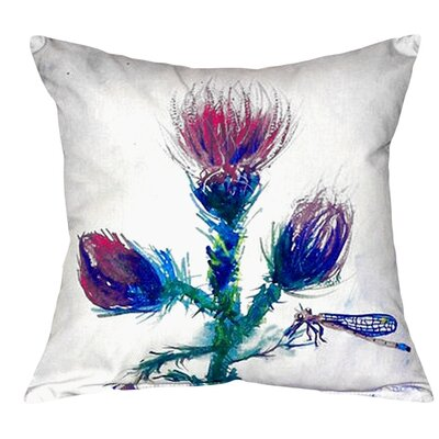 Thistle Indoor/Outdoor Throw Pillow