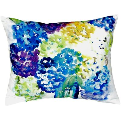 Hydrangea Indoor/Outdoor Lumbar Pillow