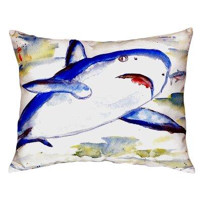 Shark Indoor/Outdoor Lumbar Pillow