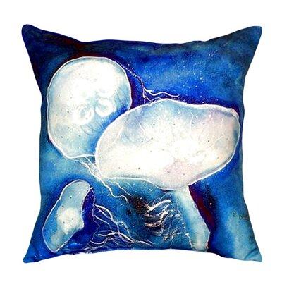 Jellyfish Indoor/Outdoor Throw Pillow