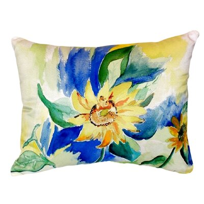 Sunflower Indoor/Outdoor Lumbar Pillow