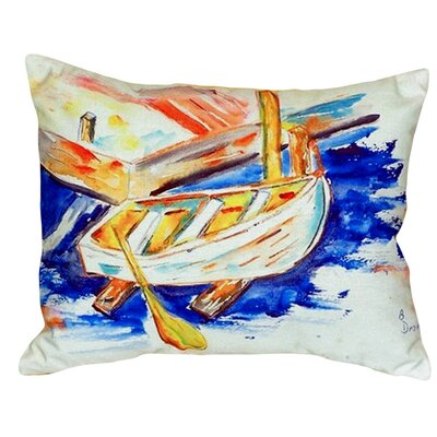 Row Boat Indoor/Outdoor Lumbar Pillow