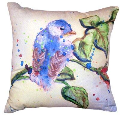 Alexandre Bird No Cord Outdoor Throw Pillow