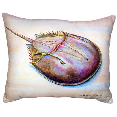 Havertown Horseshoe Crab No Cord Outdoor Lumbar Pillow