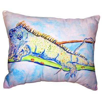 Stevens Iguana No Cord Outdoor Lumbar Pillow