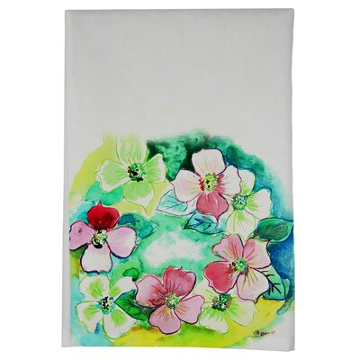 Flower Wreath Hand Towel