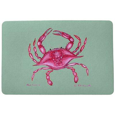 Coastal Crab Doormat Size: Rectangle 30 x 50