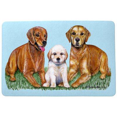 Pets Retriever Doormat Mat Size: Rectangle 30 x 50