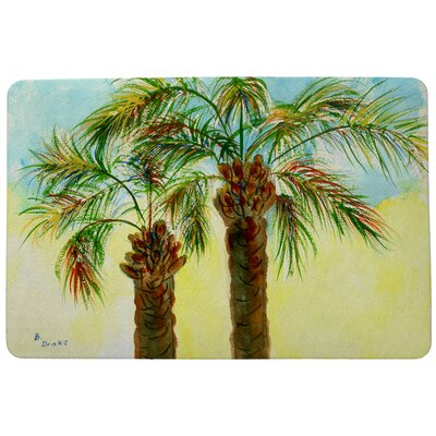 Coastal Palms Doormat Mat Size: Rectangle 30