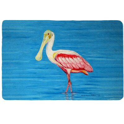 Dicks Spoonbill Doormat Mat Size: Rectangle 16 x 22